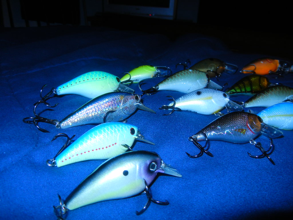 Lucky craft rc 2 5 - Lucky Craft 1 5 And 2 5 Big Daddy Strike Manns Mid Minus And One Minus Norman Flat Broke Kvd Slient